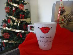 Beijos e café 1 Caneca Cheia de Amor ♡♡♡