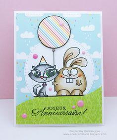 Happy Birthday card by Melanie Jane Paper Smooches