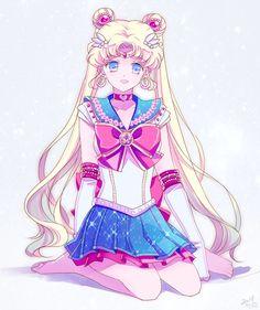 セーラームーン / 月野うさぎ Sailor Moon / Usagi Tsukino by ミュうさ - fanart