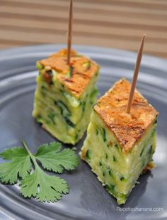 Gâteau invisible aux courgettes & safran Savoury Dishes, Food Dishes, Food In French, Cuisine Diverse, Vegan Recipes, Cooking Recipes, Slow Cooker Chicken, Light Recipes, Tapas