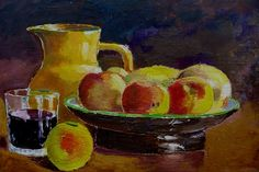 5 Super Easy, Super Fun Acrylic Painting Ideas for Beginners Acrylic Painting For Beginners, Acrylic Painting Lessons, Beginner Painting, Top Paintings, Still Life Fruit, Acrylic Pouring Art, Kool Aid, High Quality Images, Things To Come