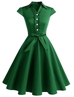 Shop a great selection of Wedtrend Women's Retro Rockabilly Dress Cap Sleeve Vintage Swing Dress. Find new offer and Similar products for Wedtrend Women's Retro Rockabilly Dress Cap Sleeve Vintage Swing Dress. Pretty Dresses, Sexy Dresses, Evening Dresses, Fashion Dresses, Short Sleeve Dresses, Junior Dresses, Fashion Clothes, Robes Vintage, Vintage Party Dresses