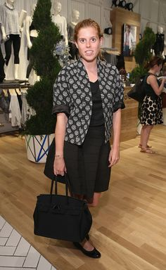 HRH Princess Beatrice of York attends Derek Lam 10C Athleta launch party at Athleta's new Soho store on September 8, 2015 in New York City.