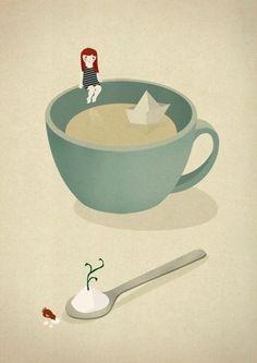 Le Petit Monde #illustration