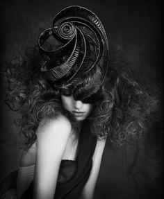 swirly fascinator