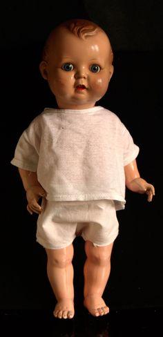Celuloidová panenka chlapec Minerva