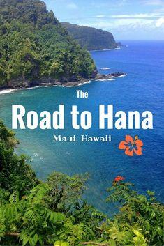 Experiencing the Road to Hana in Maui, Hawaii