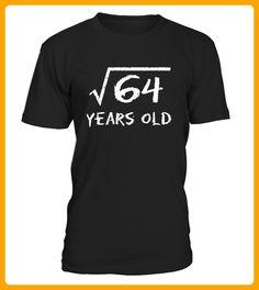 Square Root of 64 8th Birthday Shirt - Shirts für freundin mit herz (*Partner-Link)