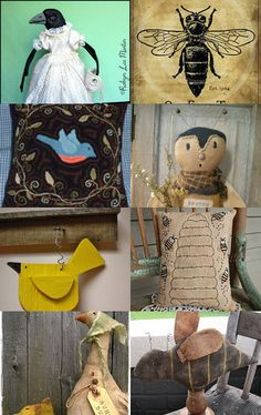 Birds and Bees by Karen Duke on Etsy--Pinned with TreasuryPin.com
