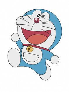 DORAEMON .this is my childhood hero.i love him because he is intelligent,kindness and caring also.