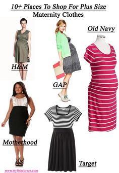plus maternity (I'm not pregnant but sometimes maternity clothes fit me better)