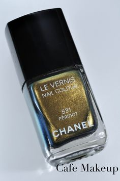 Chanel peridot.