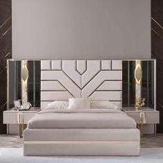 Dresser With Mirror, Queen Size, Valentino, Bedroom, Elegant, Stylish, Furniture, Design, Home Decor