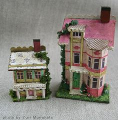 Cute Houses in 1/144th scale