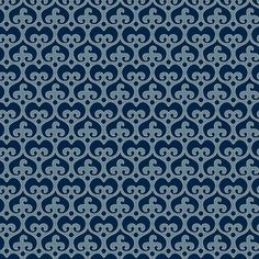 MOD DAMASK - GEOMETRIC DAMASK FABRIC