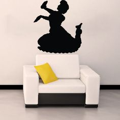 Hindu Indian Girl Dancing Woman Silhouette Wall Vinyl Decal Art Sticker Home Modern Stylish Design Interior Decor for Any Room Smooth and Flat Surfaces Housewares Murals Window Graphic Dance Studio Living Room Bedroom (3910) stickergraphics http://www.amazon.com/dp/B00IIS5AW4/ref=cm_sw_r_pi_dp_jvrUtb0QJ8N0CXDN