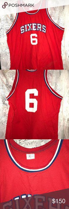 Vintage 80 s Philadelphia 76ers Basketball Jersey 8a2ea9d1c