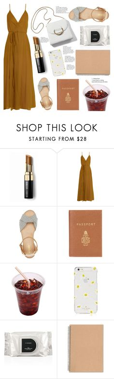 """""""ceiling"""" by fransiscaerica ❤ liked on Polyvore featuring Bobbi Brown Cosmetics, Loup Charmant, Charlotte Russe, Barrie, Kate Spade and MAC Cosmetics"""