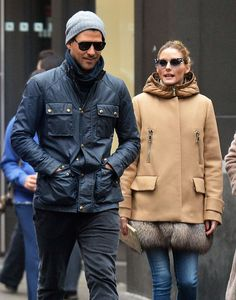 Olivia Palermo and Johannes Huebl out in New York City, May 2, 2016