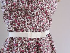 How to Make a Flat Bow Belt - Tutorial | Guthrie & Ghani