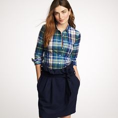 Preppy look for the office