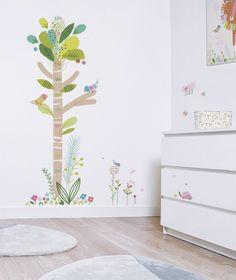 Medidor de altura infantil árbol de colores - Minimoi
