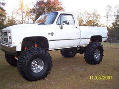 boggers on ole chev