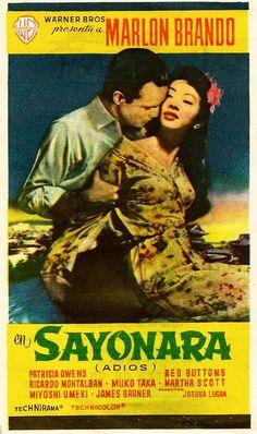 Sayonara with Marlon Brando,Red Buttons, Mioshi Umeki, James Garner