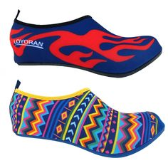 BambooMN Brand - Ultra Light Dynamic Flexible Active Water Sport Aqua Running Beach Shoes - 10 Colors - 4 Sizes * Check out this great product.