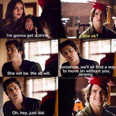 """#TVD 6x14 """"Stay"""" -  Elena, Damon and Jeremy"""