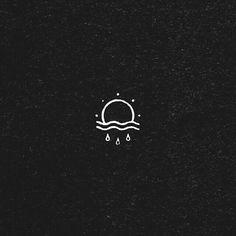 Die Sonne geht immer noch durch den Regen – Kopf und das Herz … The sun is still going through the rain – Head and the heart … Piercings, Piercing Tattoo, Rain Tattoo, Et Tattoo, Mini Tattoos, Small Tattoos, Tiny Sun Tattoo, Small Simple Tattoos, White Tattoos