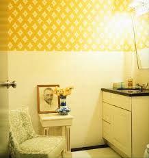 yellow purple bathroom - Google Search