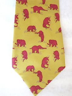 Vintage Hermes 1980's Necktie Pink by HouseOfMirthVintage on Etsy, $85.00