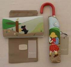 "Radley Large Signature Matinee Purse & Umbrella - ""Rambling Radley"" - BNWT - NEW 