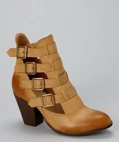 Another great find on #zulily! Light Tan El Paso Boot by Nature Breeze #zulilyfinds