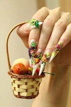 fruit #nail #nails #nailart