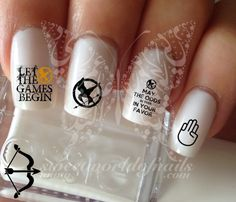 The Hunger Games water Decals Transfers Wraps