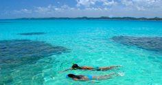 Afinal, quem não quer mergulhar nessa água azul turquesa?