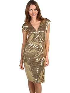 a modest, cute sequin dress! come sin black, too. which would i want?