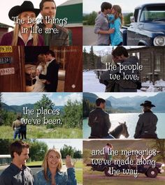 Heartlandians Amy And Ty Heartland, Heartland Quotes, Heartland Ranch, Heartland Tv Show, Heartland Seasons, Heartland Actors, Country Girl Life, Country Girls, Country Music