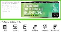 Inscrições abertas para o 30º Curso Abril de Jornalismo