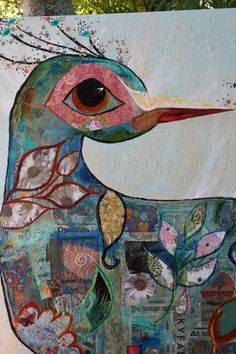 Paisley Peacock by artbylorilynn on Etsy, $1500.00