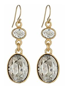 oh so pretty Diana Warner double drop earrings.