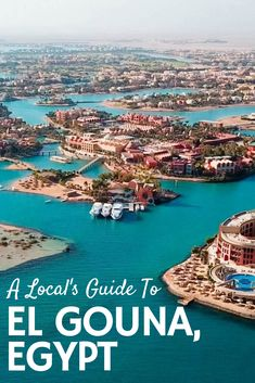 A detailed guide of where to go, what to do, where to stay and what to eat in El Gouna, a resort town on the Red Sea in Egypt. Egypt Giza Pyramids, Cairo Egypt, Sharm El Sheikh Egypt, Hurghada Egypt, Travel Aesthetic, Aesthetic Black, Aesthetic Pastel, Aesthetic Vintage, Us Travel