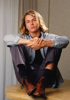 river phoenix - there is a huge sadness quotient here.  He died when I was a freshman in high school.