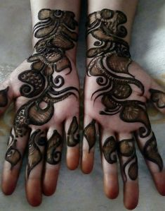 Are you looking for some fascinating design for mehndi? Or need a tutorial to become a perfect mehndi artist? Khafif Mehndi Design, Floral Henna Designs, Latest Arabic Mehndi Designs, Full Hand Mehndi Designs, Mehndi Designs For Girls, Mehndi Designs For Beginners, Stylish Mehndi Designs, Dulhan Mehndi Designs, Mehndi Design Photos