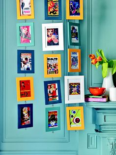 14 best framing corner samples images on pinterest corner custom colorful frames with vintage movie posters people who do crazy things like these make solutioingenieria Choice Image