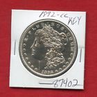 1892 CC MORGAN SILVER DOLLAR #87402 HIGH GRADE COIN US MINT RARE KEY DATE ESTATE