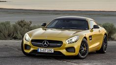 """Mercedes has revealed its all-new two-seater AMG GT, which is set to compete with the Porsche 911 and the new BMW plug-in hybrid. """"With the new GT, we are positioning Mercedes-AMG even more aggressively than to date,"""" said the CEO of AMG, Tobias […] Mercedes Benz Amg, Autos Mercedes, Volvo Xc90, New Sports Cars, Sport Cars, Mazda, Porsche 911, Rs6, Carl Benz"""