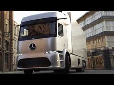 TRANSGOL Transporte Internacional de Cargas - YouTube    El Mercedes Urban eTruck ya circula por Europa